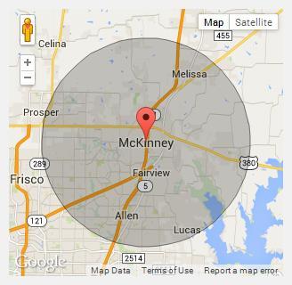 About Us McKinney Dumpster Rental - Mckinney texas us map